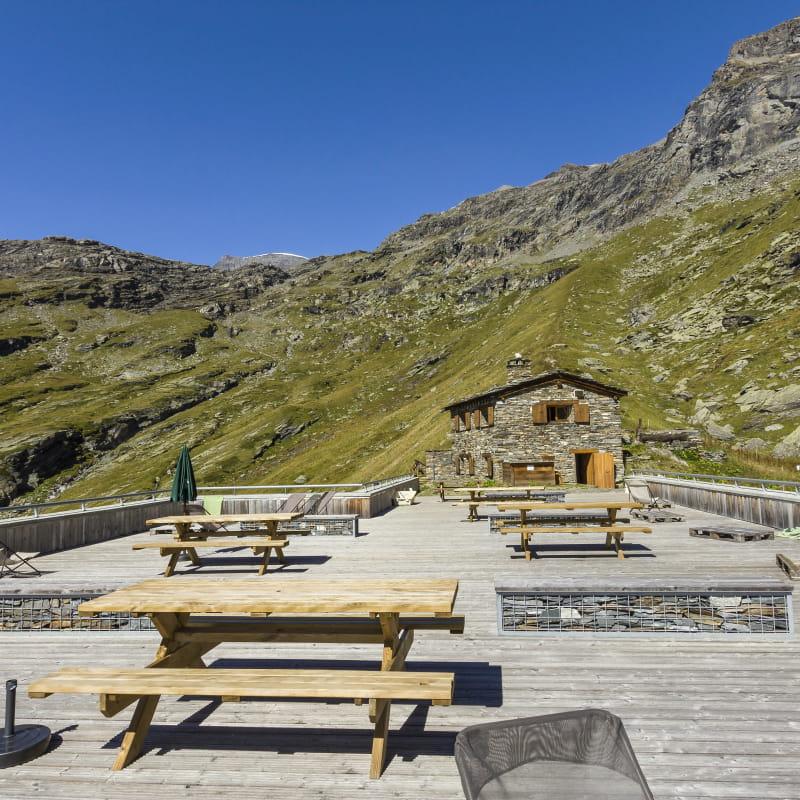 Refuge de l'Arpont à Val Cenis-Termignon