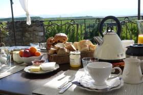 Petits déjeuners - détails - La Ferme les Eybrachas