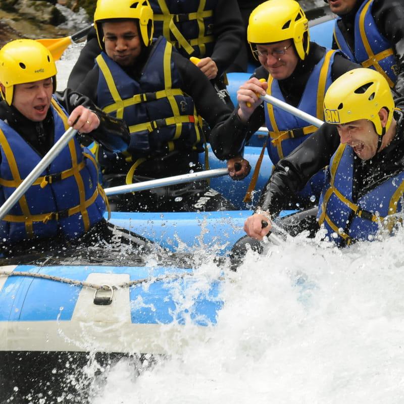 Rafting avec AN Rafting
