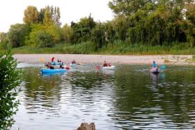 Canoë - Kayak de Vogüé à Sampzon- 24 km avec Cap07 Canoë