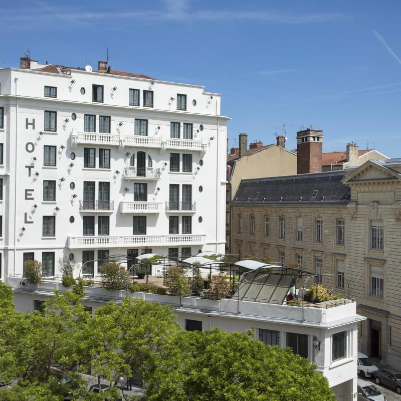 Collège Hôtel - Façade