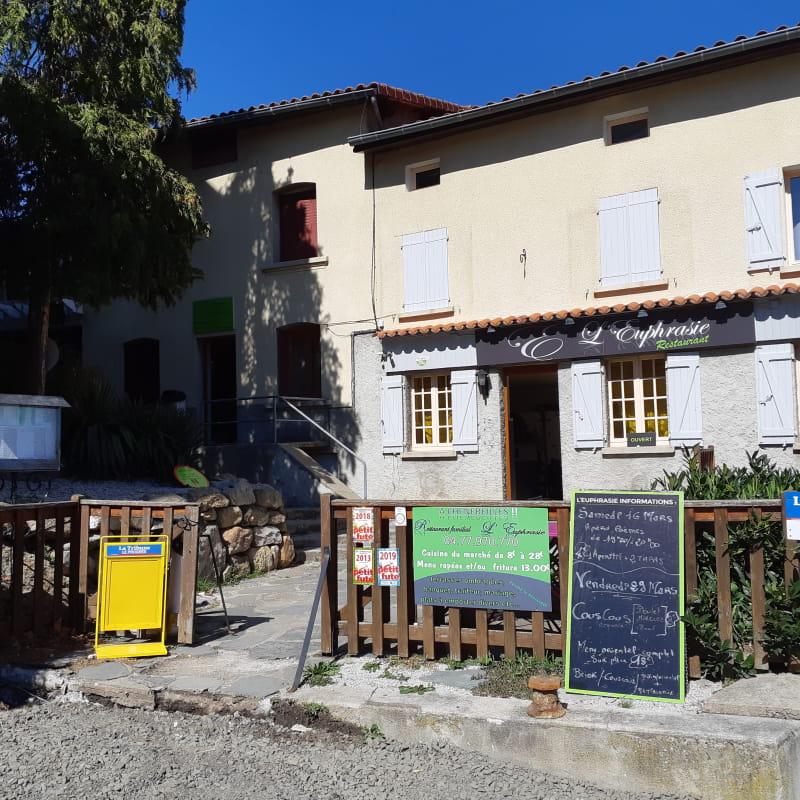 Restaurant l'Euphrasie à Chenereilles (42560)