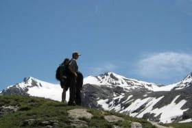 Randonnée franceraft vallée de la Plagne
