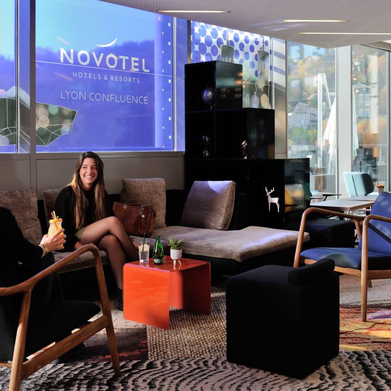 Novotel Lyon Confluence - Lobby