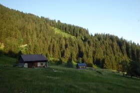Hameau d'alpage de la Léchère