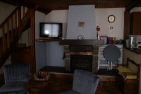 Baduel salon et cheminée