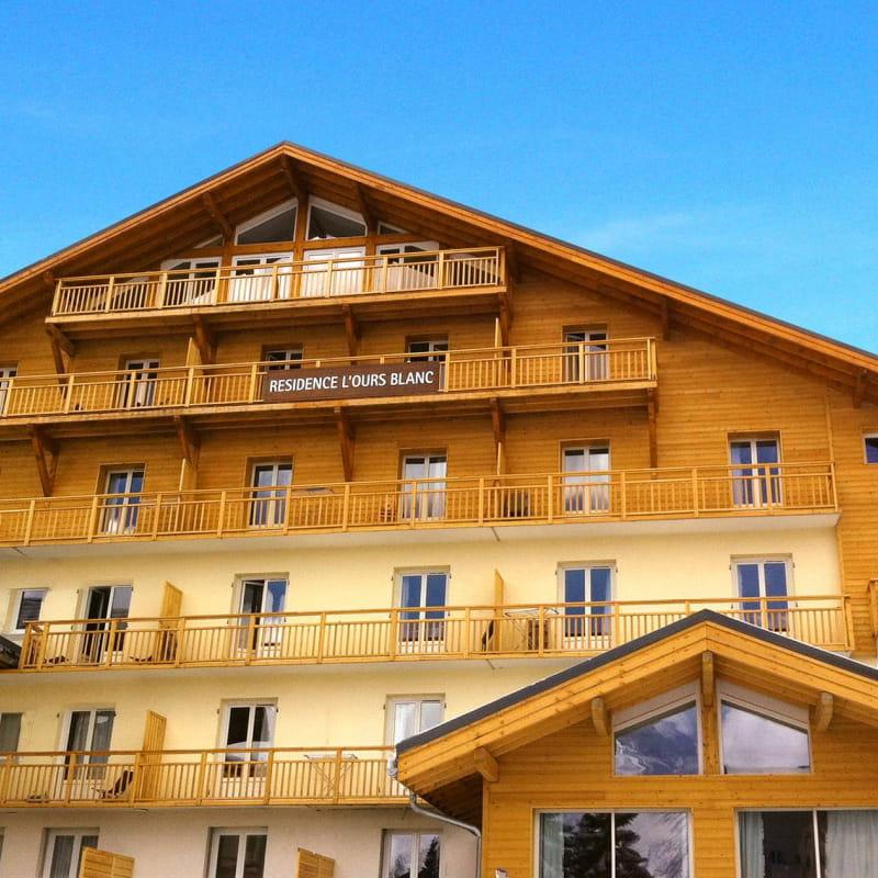 ODALYS L'OURS BLANC - 3 pièces cabine