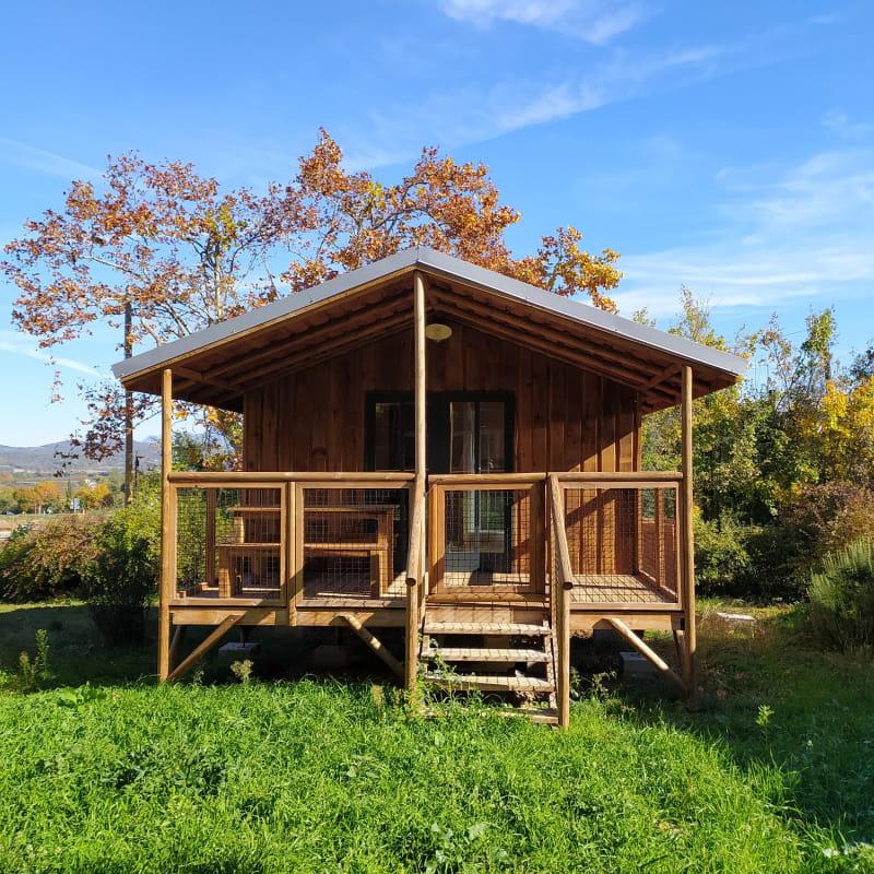 Cabanes sur pilotis - Camping les 4 Saisons