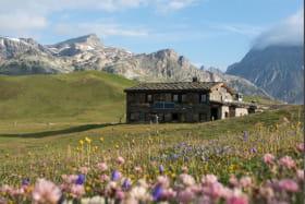 Refuge du Plan du Lac à Val Cenis-Termignon en été