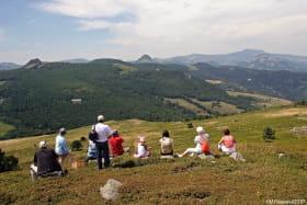 Le Tour du Massif Mézenc - Gerbier de Jonc