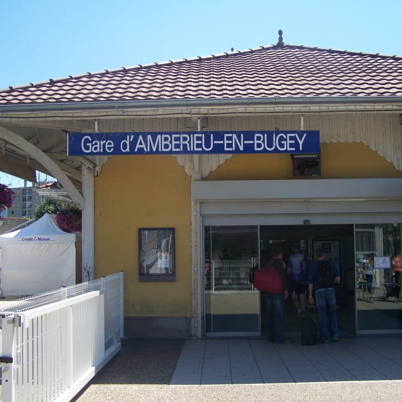 Gare Ambérieu en Bugey