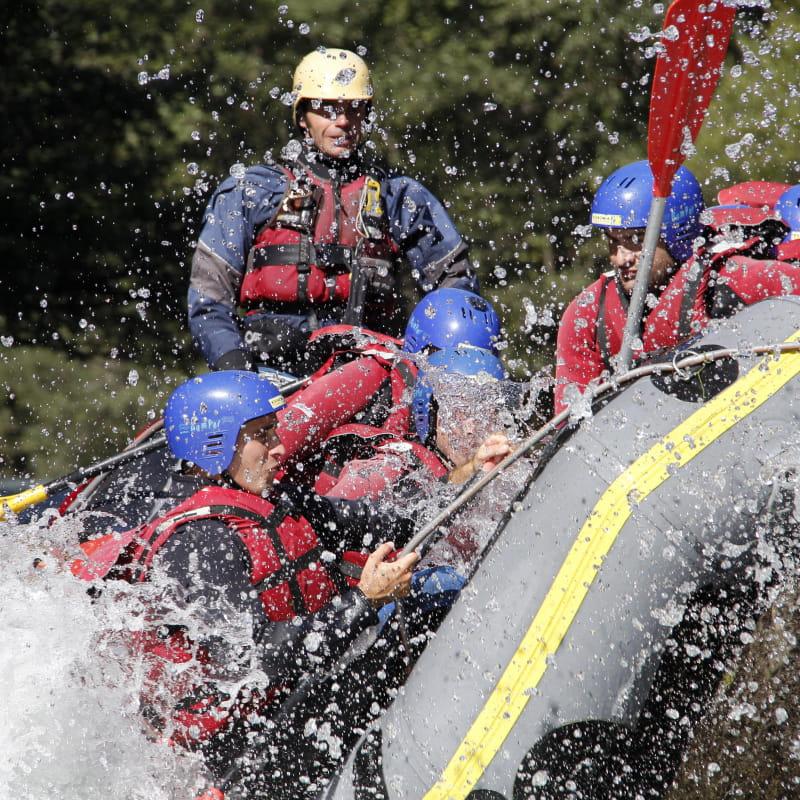 Raft in Action vallée de la Plagne