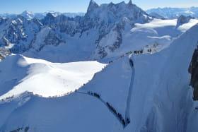 La Vallée Blanche - Mountain access