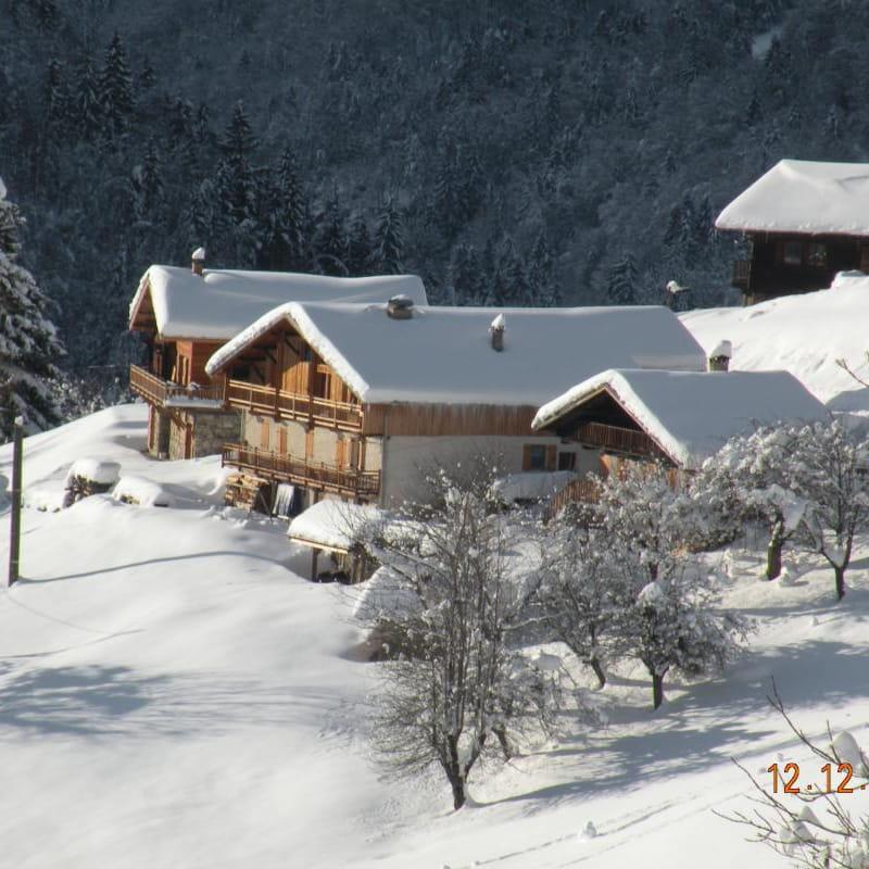 La Grange à Baptiste en hiver