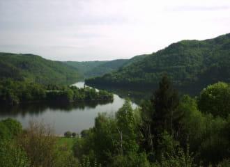 Vue lac des Fades Besserve