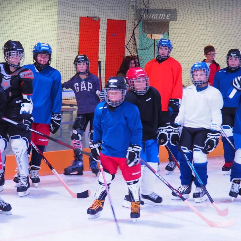 équipe hockey enfant