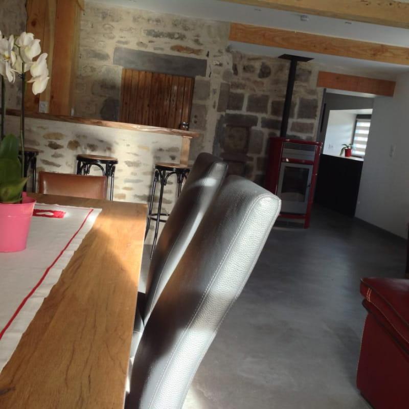 Aucun aperçu  Maison Gite la Bergère Orcival salle à manger