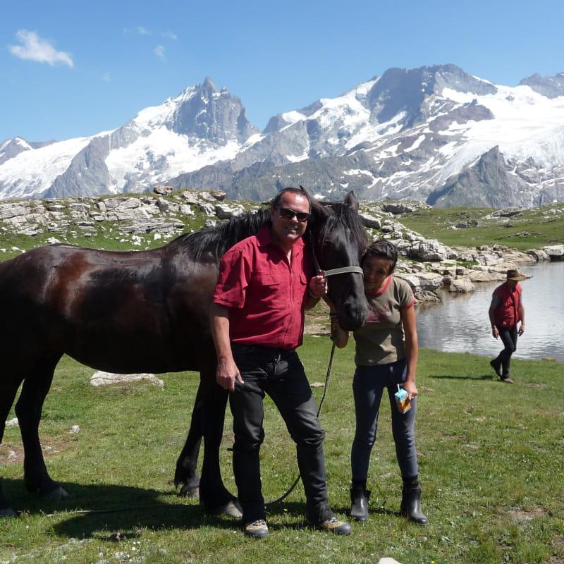 L'Oisans à cheval