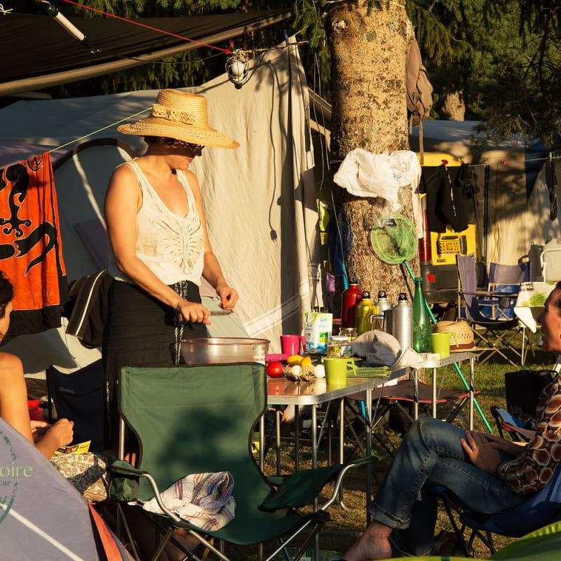 Camping la Plaine de la Loire