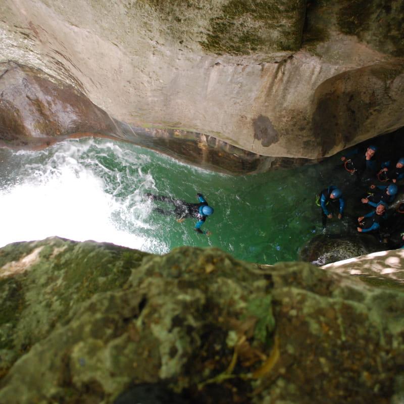Canyoning - Vertical Way