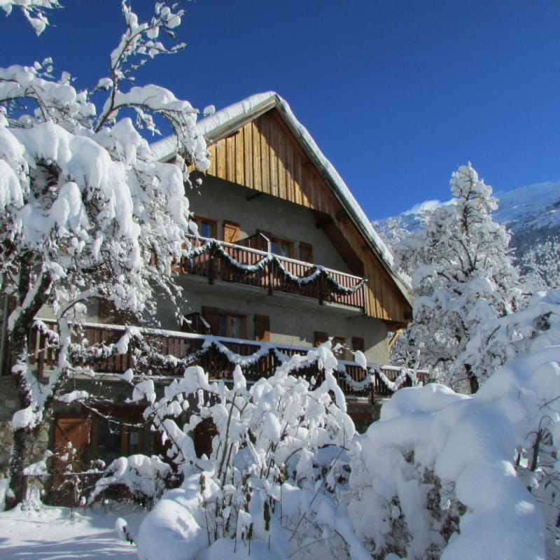 Chalet Solneige en hiver