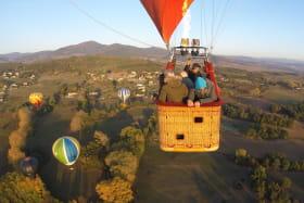 Vol avec Montgolfières & Cie
