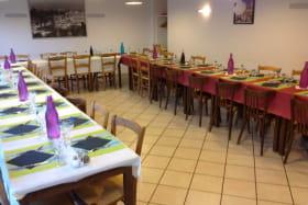 Salle de restaurant disposition groupes