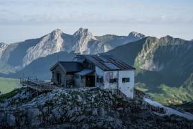 Refuge de Gramusset - La pointe Percée au Grand-Bornand