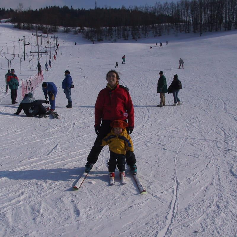 ski alpin au Plans d'Hotonnes