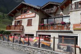 Hôtel la Vanoise à Bessans