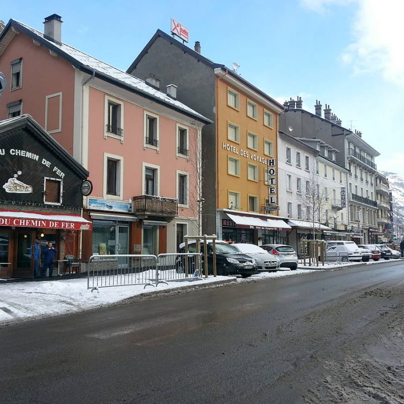 Hôtel des Voyageurs à Modane