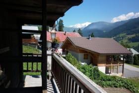 1er Etage balcon,avec belle vue dégagée sur le Mt-blanc