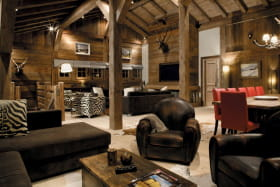 chalet Amazon Creek Chamonix - salon