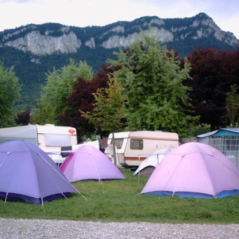 Emplacement des tentes