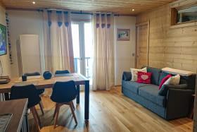 Location meublée - Apt 154 - Les Chalets du Thabor à Valfréjus