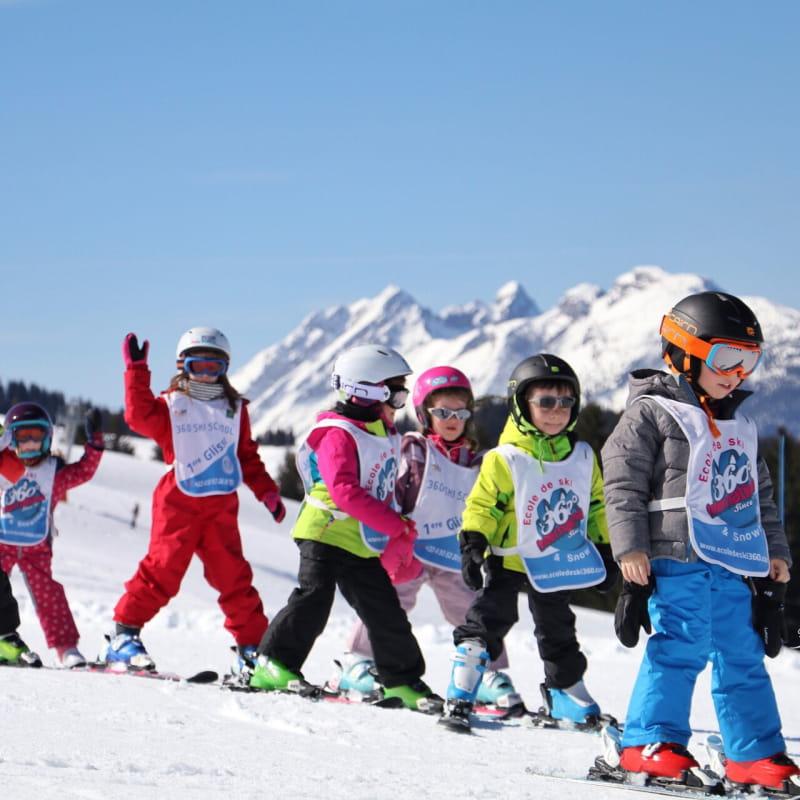 Courfs de ski enfants samoens