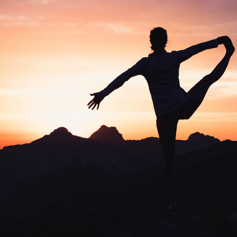Marche et yoga au Grand-Bornand