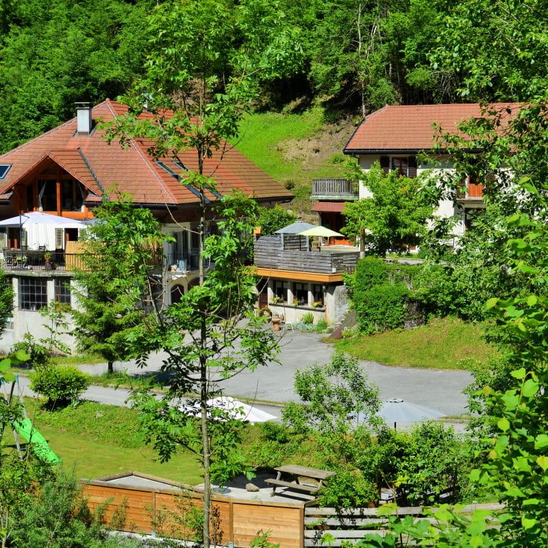 L'Ancienne Scierie - le Mélèze - Les Clefs, Haute-Savoie