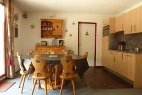 Appartement dans la station de Valfréjus.