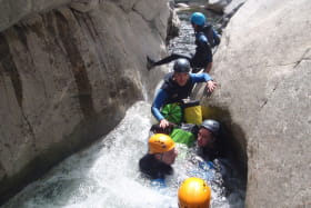 Canyoning en famille - Ardèche Équilibre