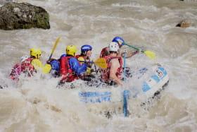 Rafting avec Eaux Zones et VTT