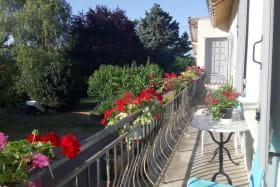 balcon hortensia