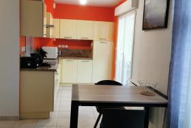Appartement F2 pour 2 personnes dans une résidence