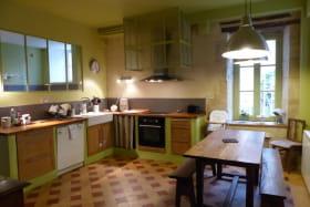 La Maison de Famille de CERILLY dans l'ALLIER en AUVERGNE, la Cuisine