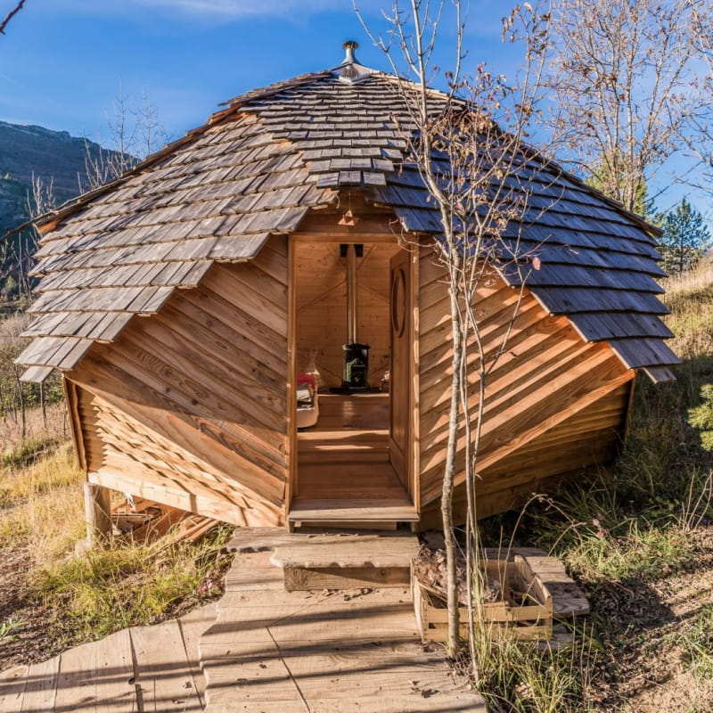 La cabane sous les étoiles
