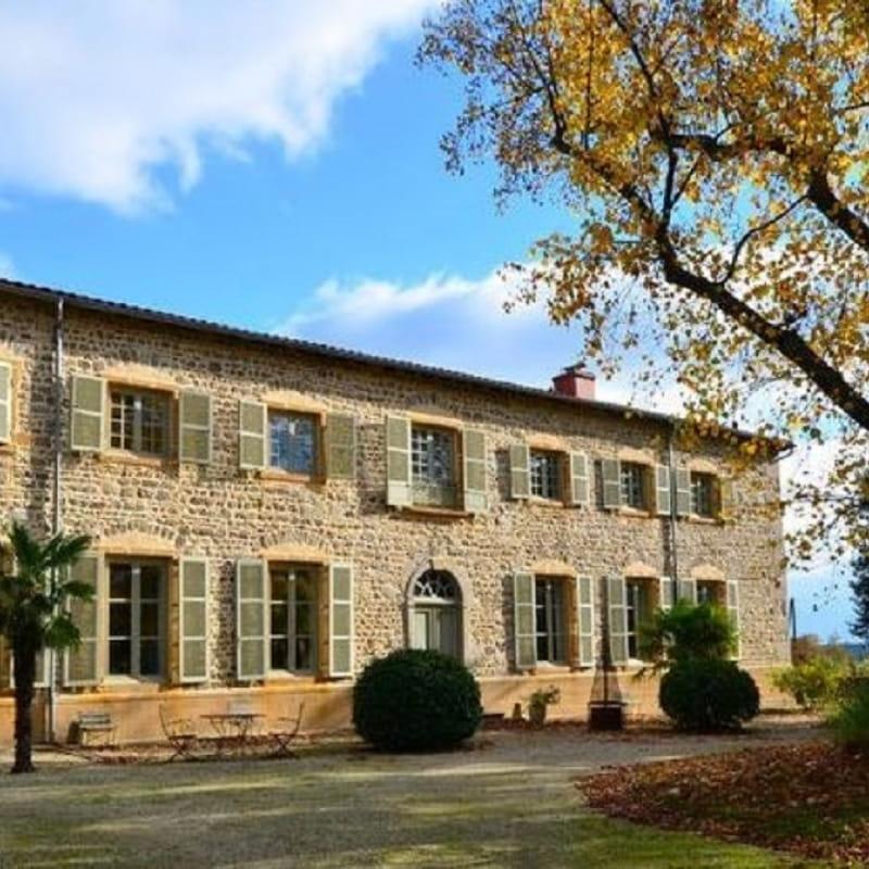 Gîte/studio 'Domaine de la Feuillade -  Hypolite de Rosières' à Messimy (Rhône - Ouest Lyonnais).
