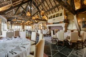 Domaine des Saints Pères à Montagnole :  restaurant