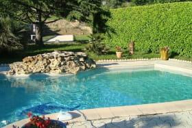 la piscine à partager avec les propriétaires