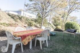 Jardin privatif du gîte