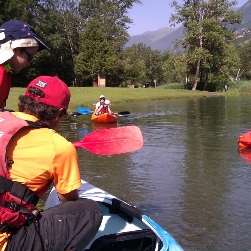 Kayak ou paddle à la base de loisirs des Versants d'Aime